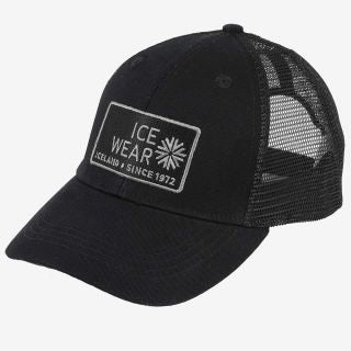 Trucker Ball Cap Unisex - Black