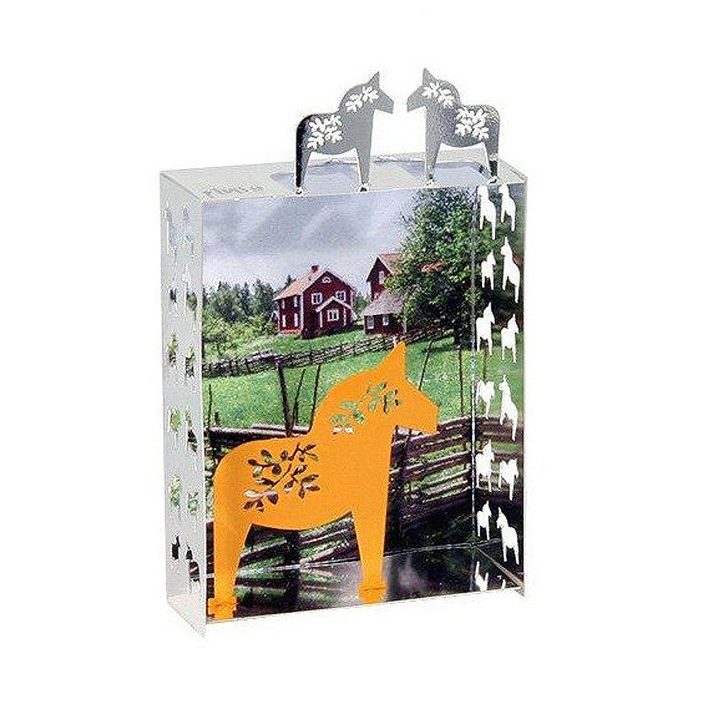 Mini World Fridge Magnet - Dala Horse
