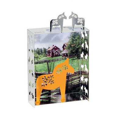 Dala Horse Mini World Fridge Magnet