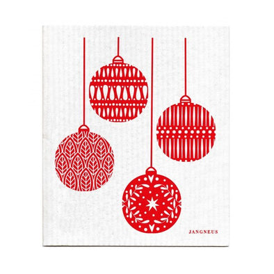 Ornaments - Red - The Amazing Swedish Dish Cloth