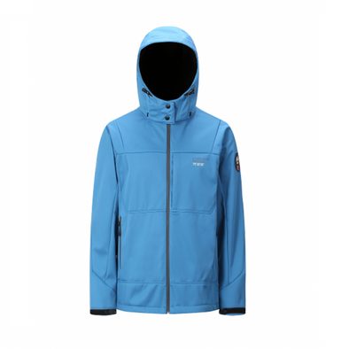 3 Layer Softshell Jacket Unisex - Ocean Blue