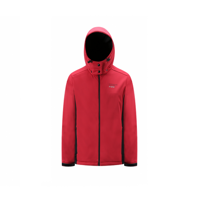 3 Layer Softshell Jacket Unisex - Red and Black