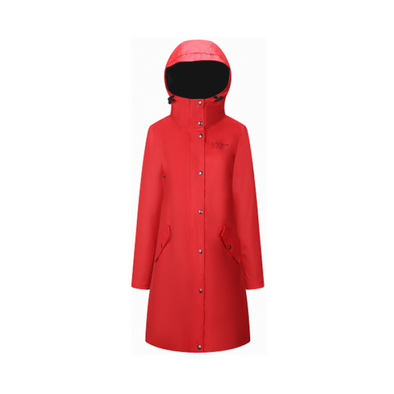 Rain Coat - Womens - Red