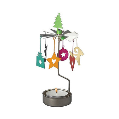 Christmas Decorations - Rotating Carousel Candle Holder