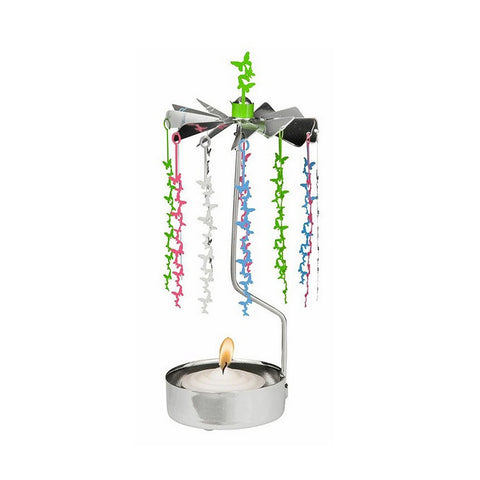 Rotating Carousel Candle Holder – Butterflies