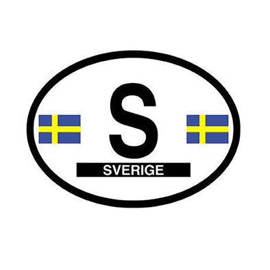 Sverige (Sweden) Vinyl Car Decal