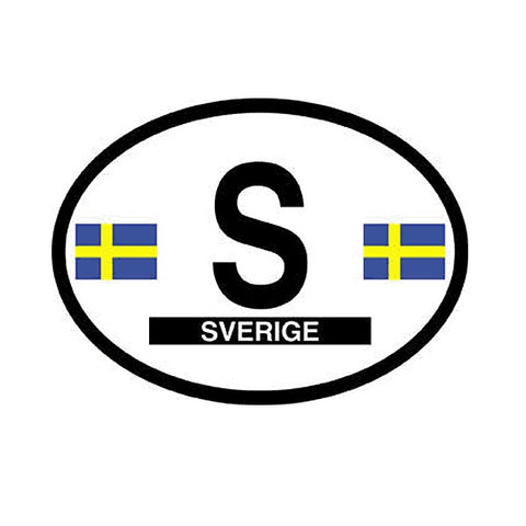 Sverige Vinyl Car Decal