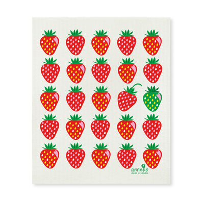 Strawberries - The Amazing Swedish Dish Cloth