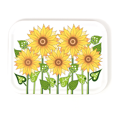 Sunflowers - Birch Wood Serving Tray