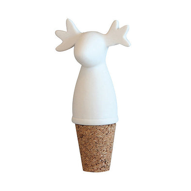 Moose Wine Bottle Stopper