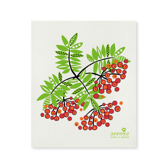 Winter Berries - The Amazing Swedish Dish Cloth