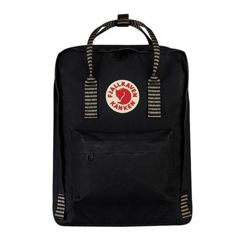 Fjallraven Kanken Classic Backpack – Black Striped