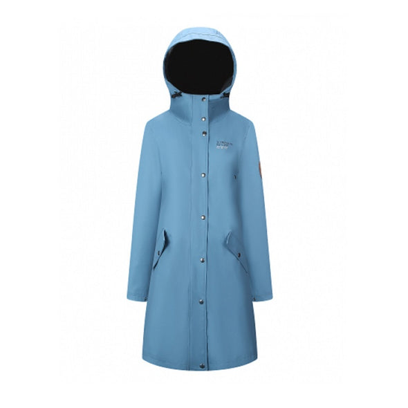 Rain Coat - Womens - Blue