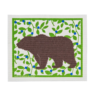 Bear - Brown - The Amazing Swedish Dish Cloth