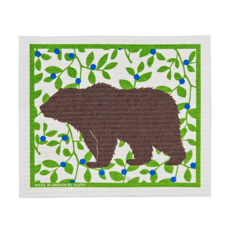 The Amazing Swedish Dish Cloth - Brown Bear