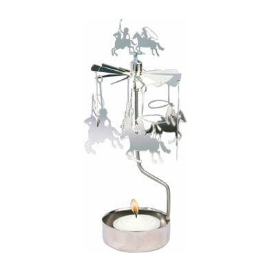Cowboys - Rotating Carousel Candle Holder
