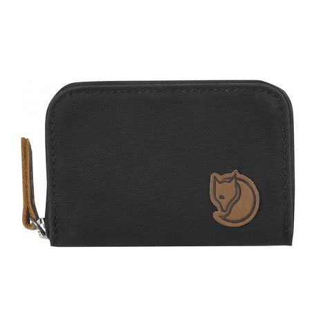 Fjallraven Zip Card Holder – Dark Grey
