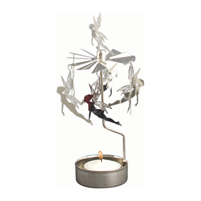 Fairies- Rotating Carousel Candle Holder