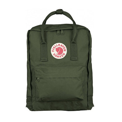 Forest Green - Classic Fjallraven Kanken Backpack