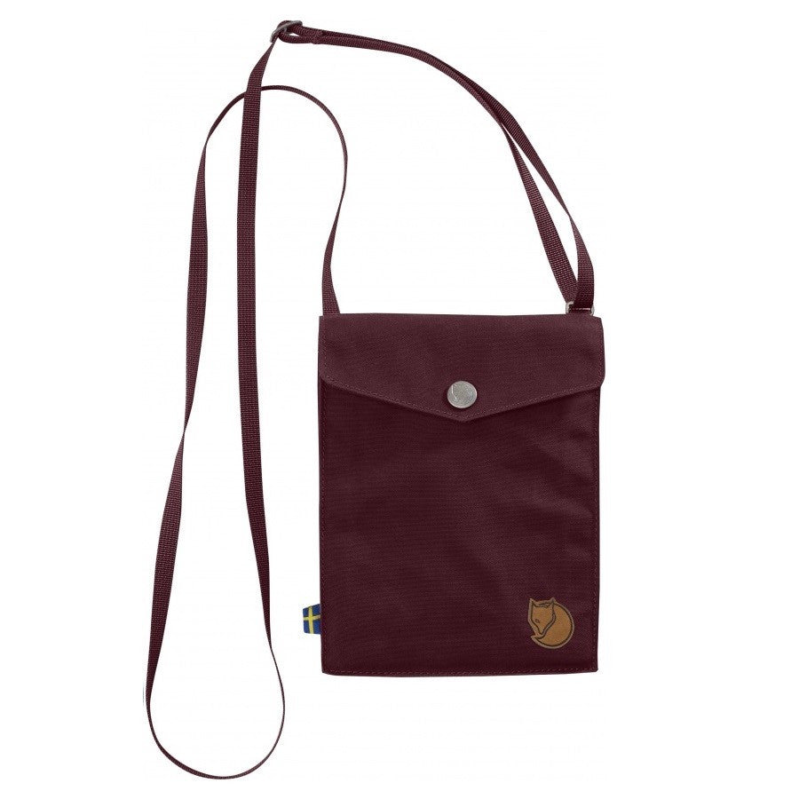 Fjallraven Pocket Shoulder Bag – Dark Garnet