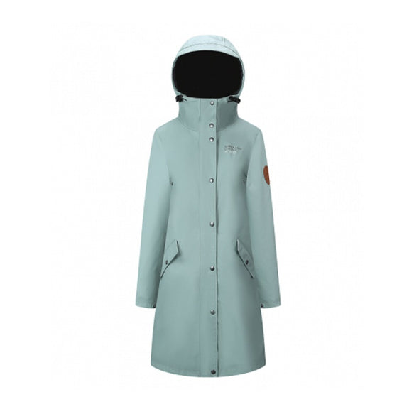 Rain Coat - Womens - Light Green