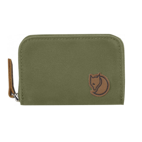 Fjallraven Zip Card Holder – Green