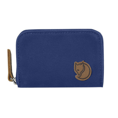 Deep Blue - Zip Card Holder Fjallraven