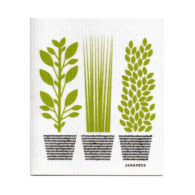 Herbs - The Amazing Swedish Dish Cloth
