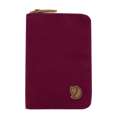 Plum - Passport Wallet Fjallraven