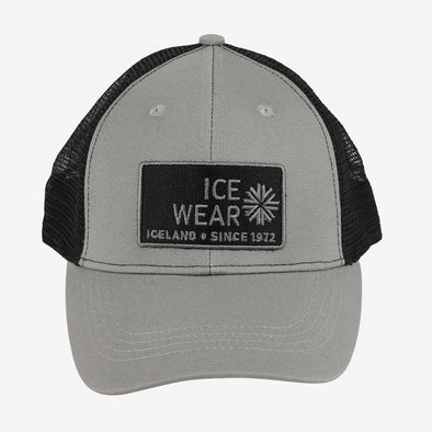 Trucker Ball Cap Unisex - Grey & Black
