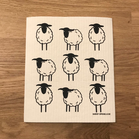 9 Sheep - The Amazing Swedish Dish Cloth
