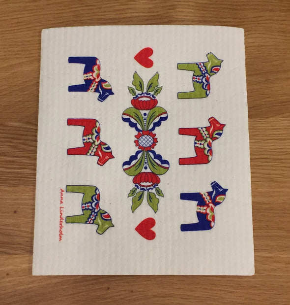 Dala Horse Kurbits - The Amazing Swedish Dish Cloth