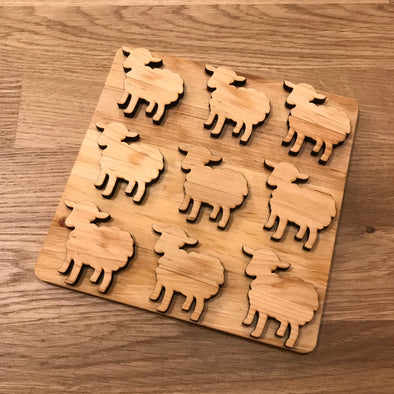 Sheep Wooden Trivet