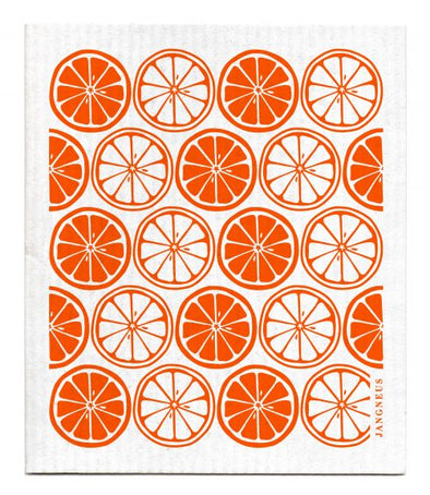 Citrus - Orange - The Amazing Swedish Dishcloth