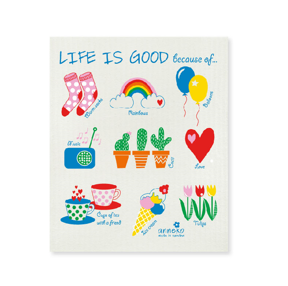 Life is Good because - The Amazing Swedish Dish Cloth