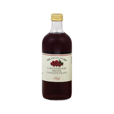 Swedish Lingonberry Drink Concentrate