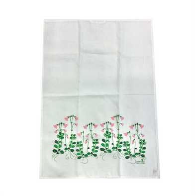 Linnea Flowers - Linen and Cotton Tea Towel