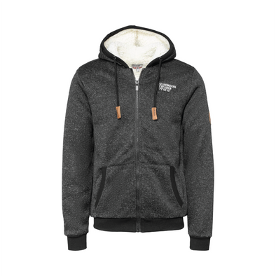 Polar Fleece Hoodie Jacket - Black - Unisex