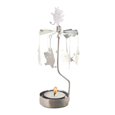 Moomin - Rotating Carousel Candle Holder