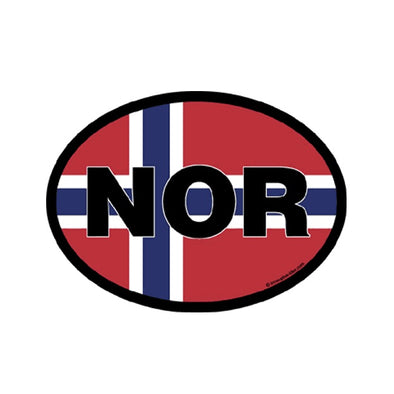 Nor Norway Vinyl Car Decal