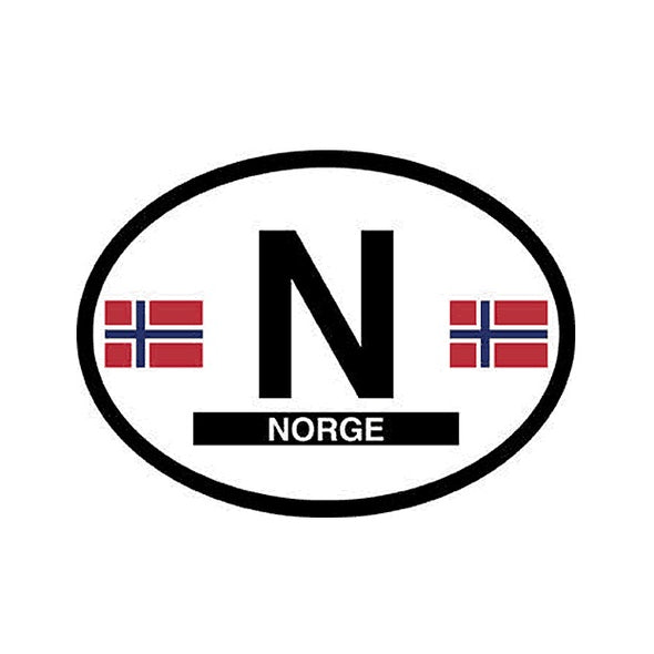Norge (Norway) Vinyl Car Decal