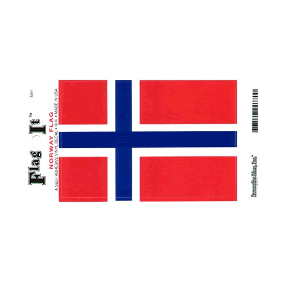 Norway Flag Vinyl Car Decal