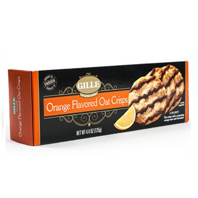 Orange Flavored Oat Crisps