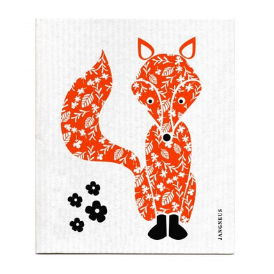 Fox - Orange - The Amazing Swedish Dish Cloth