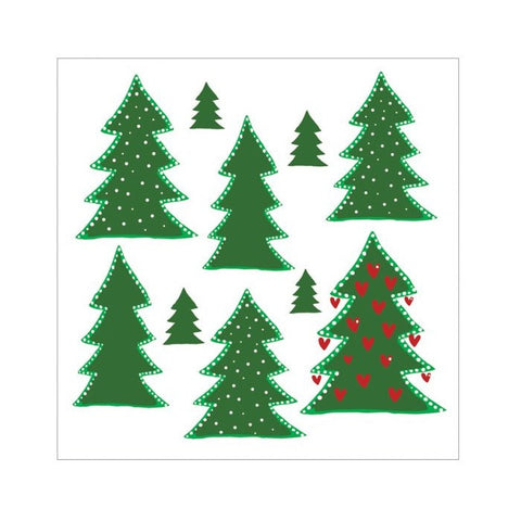Pine Trees Paper Napkins - 20 pack