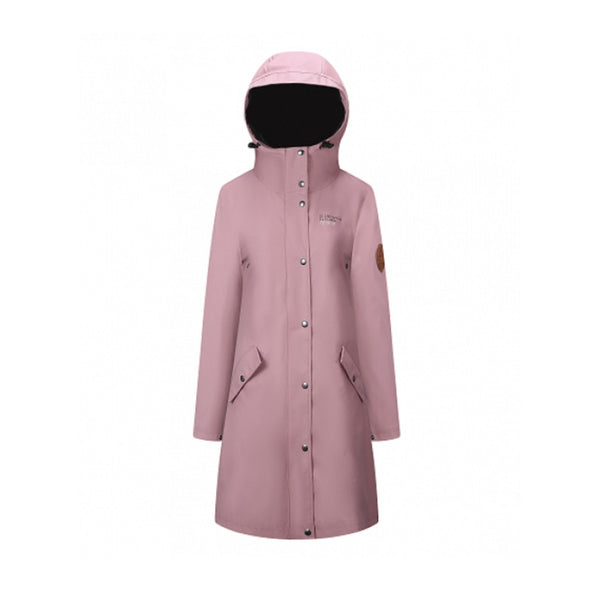 Rain Coat - Womens - Old Pink