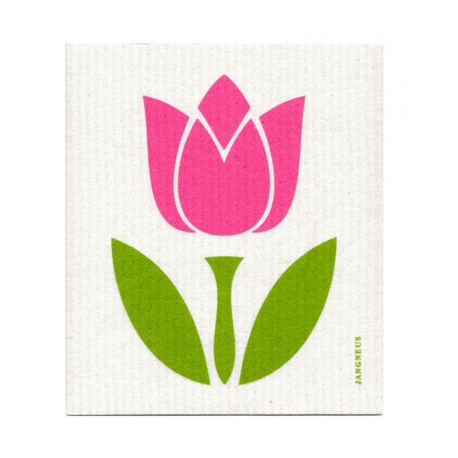 Pink Tulip - The Amazing Swedish Dish Cloth