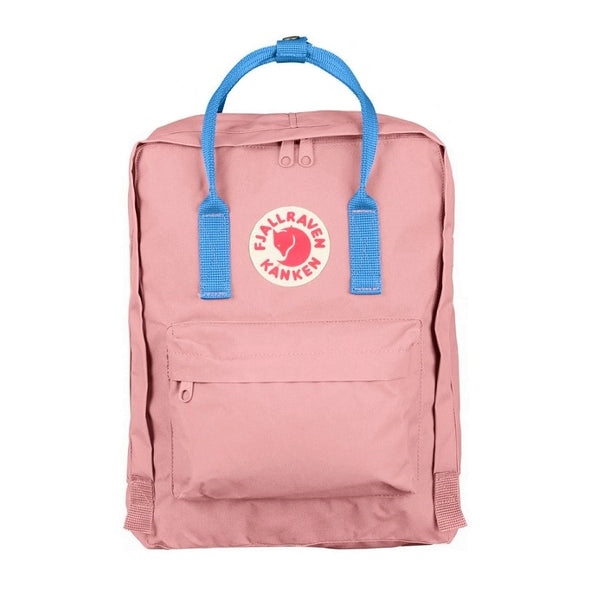 Pink with Air Blue straps - Classic Kanken Backpack
