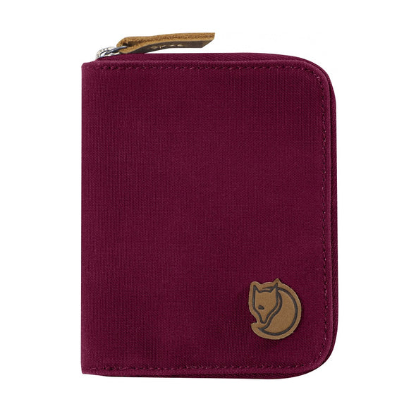 Plum - Zip Wallet Fjallraven