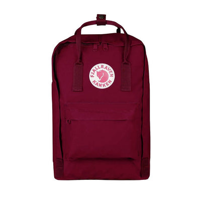 "Plum - 15"" Laptop Fjallraven Kanken Backpack"